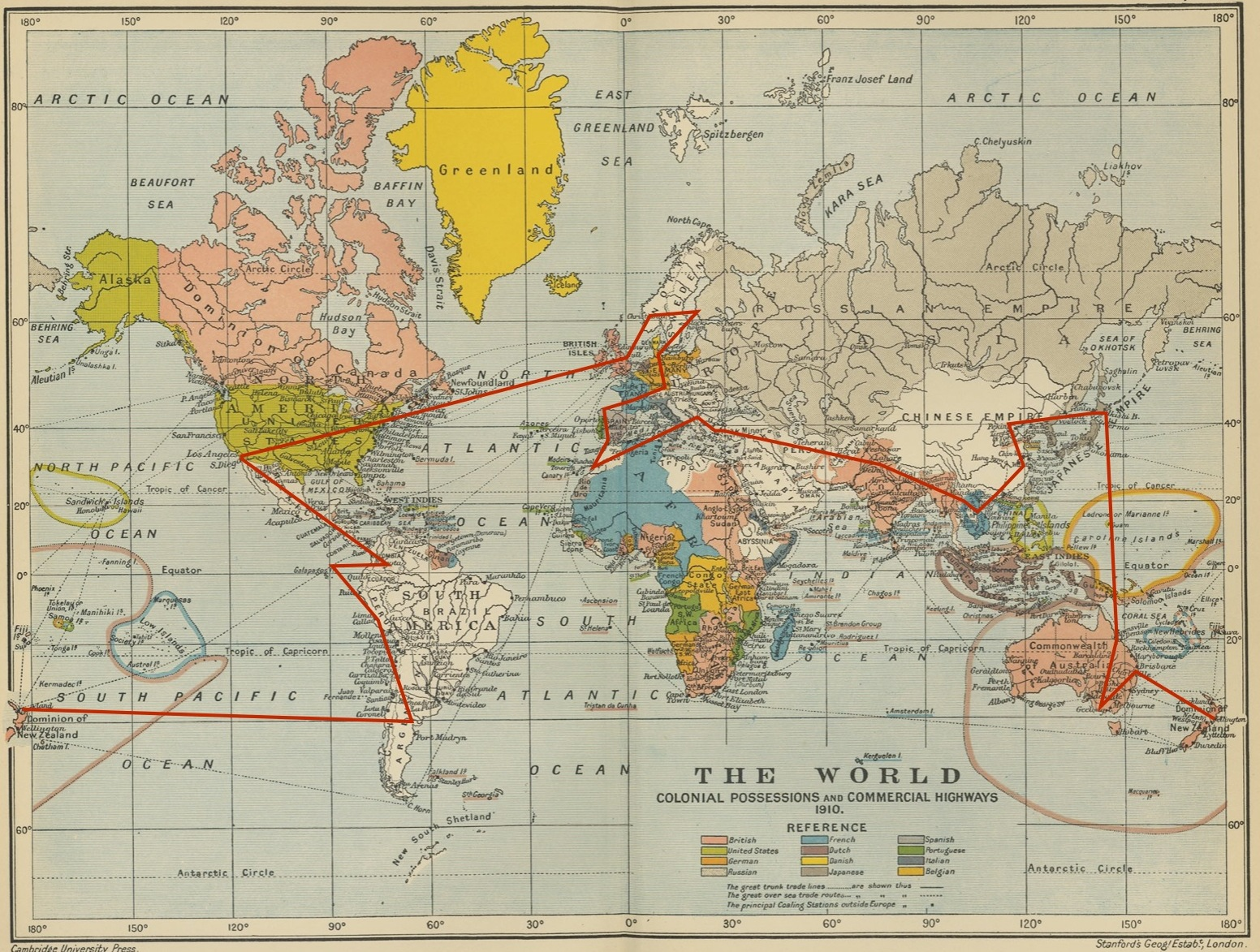 Map Of The RTW